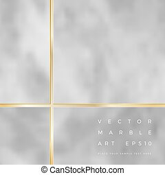 Vector abstract marble frame background design