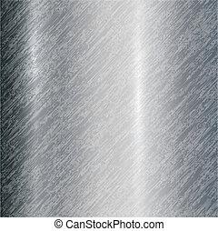 Vector abstract metallic steel background