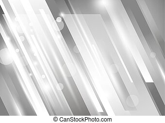 Vector Abstract modern background design silver tone