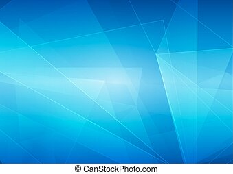 vector abstract on blue color background