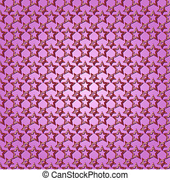 Vector abstract  purple background seamless pattern with stars