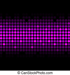 Vector abstract purple lights