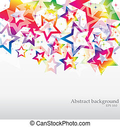 VECTOR Abstract Rainbow Background for Business Brochure or ...