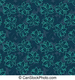 Abstract retro seamless with grapes pattern