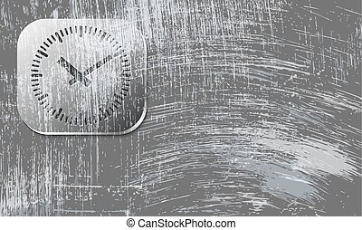 Vector abstract scratched background and watches