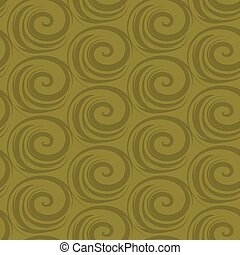 Vector abstract seamless background with spirals