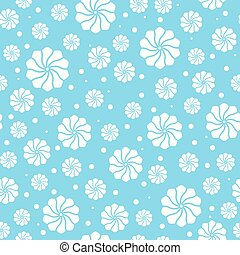 vector, abstract, seamless, floral model, communie