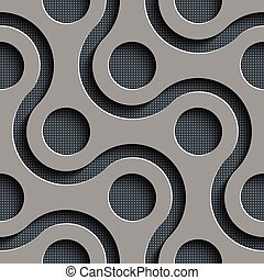 Seamless Geometric Background - Vector Abstract Seamless ...