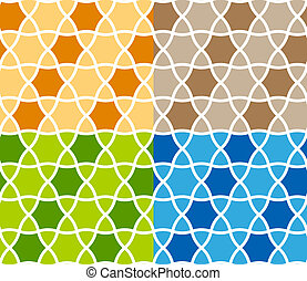 vector abstract seamless ornamental background