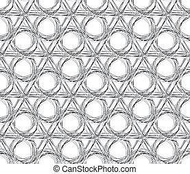 Vector abstract seamless rough texture