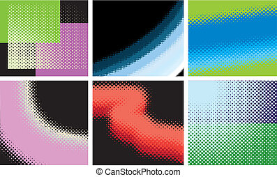 Vector abstract set of pattern2