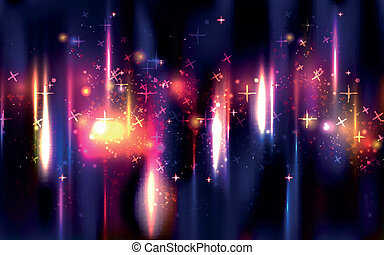 Vector abstract Space background
