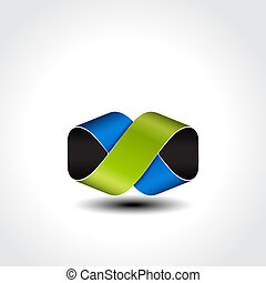 Vector abstract symbol - sign, icon, pictogram - EPS 10