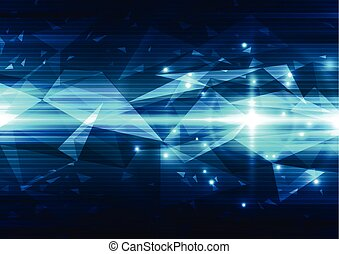 vector abstract technology background, illustration