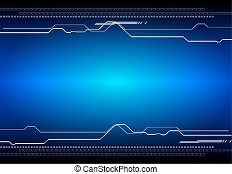 vector abstract technology digital background