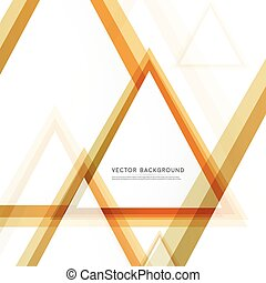 Vector Abstract template. Background with triangle