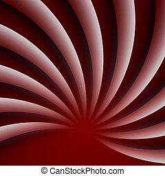 vector, achtergrond., rood, moderne, abstract, illustration., golvend