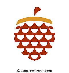 Vector acorn sign - Branding identity corporate logo ...