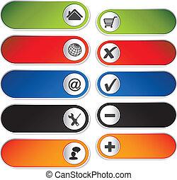 Vector add delete item, navigation