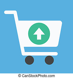 Vector Add to Shopping Cart Icon