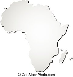 vector Africa map