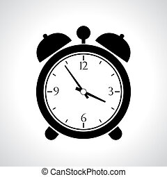 Vector alarmclock icon