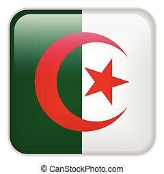 Algeria Flag Smartphone Application