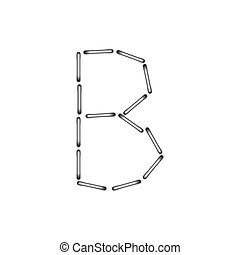 vector alphabet on a white background. Eps10