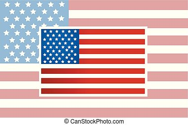 Vector American Flag vector