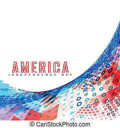 vector american independence day