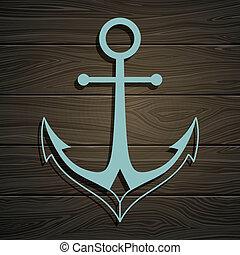 Vector Anchor - Vector Illustration of an Anchor