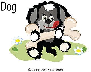 Vector animal dog