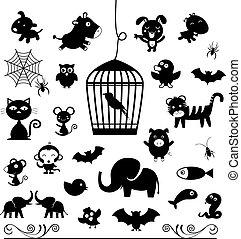 vector animal symbol