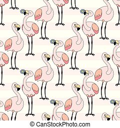 vector animals seamless pattern