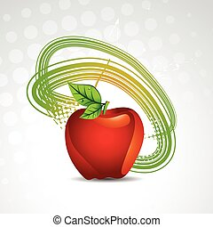 vector apple background