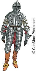 vector armor medieval knight