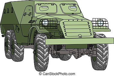 vector armored troop-carrier - armored troop-carrier vector...