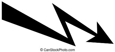 Vector arrow icon