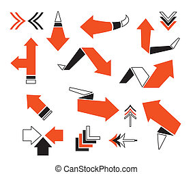 Vector arrow illustration