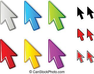 vector arrow pointers