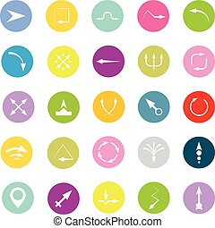 Vector Arrows Signs and Icons Illustration
