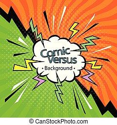 vector art comic book