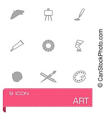 Vector Art icon set