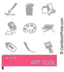 Vector Art tool icon set
