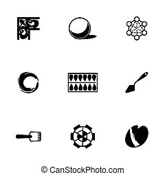 Vector Art tool icon set