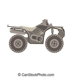 Vector ATV off-road quad bike
