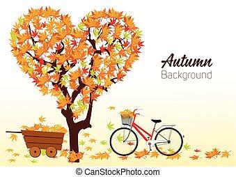 Vector Autumn background Design