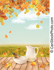 Vector Autumn Landscape