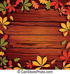 Vector Autumn Leaves