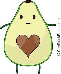 avocado - vector avocado